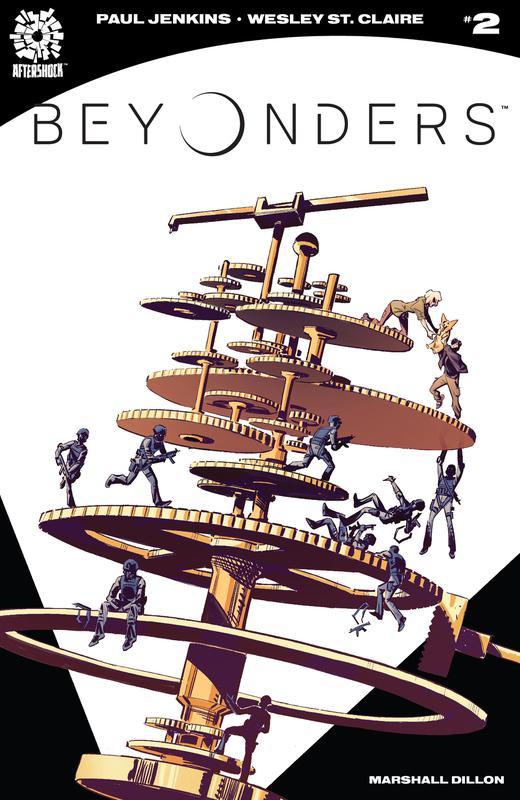 Beyonders #1-5 (2018-2019)