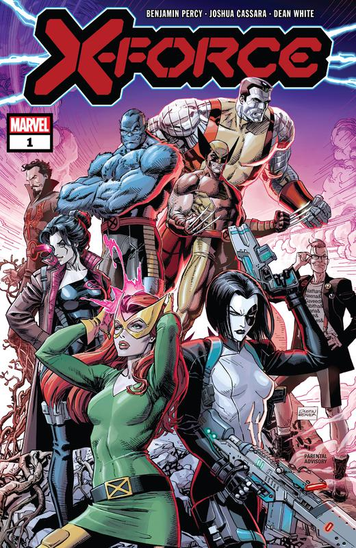 X-Force #1-6 + Director's Cut (2020)