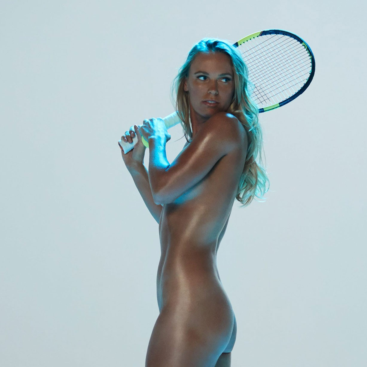 Caroline Wozniacki - ESPN The Body Issue 2017 / photo by Dewey Nicks