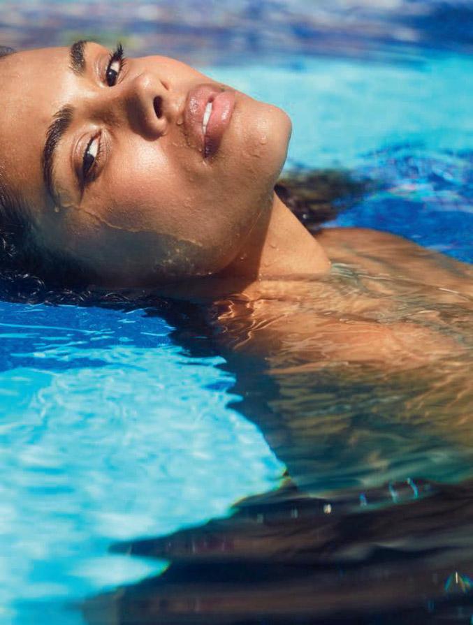 Tina Kunakey by Michel Sedan / Lui Summer 2018