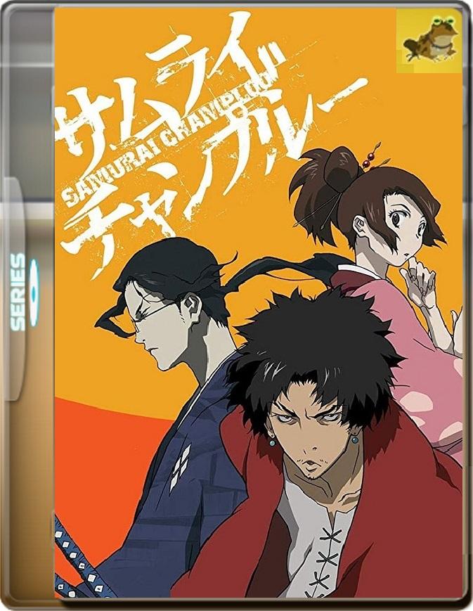Samurai Champloo (Temporada 1) (2004) Brrip 1080p (60 FPS) Latino / Japonés