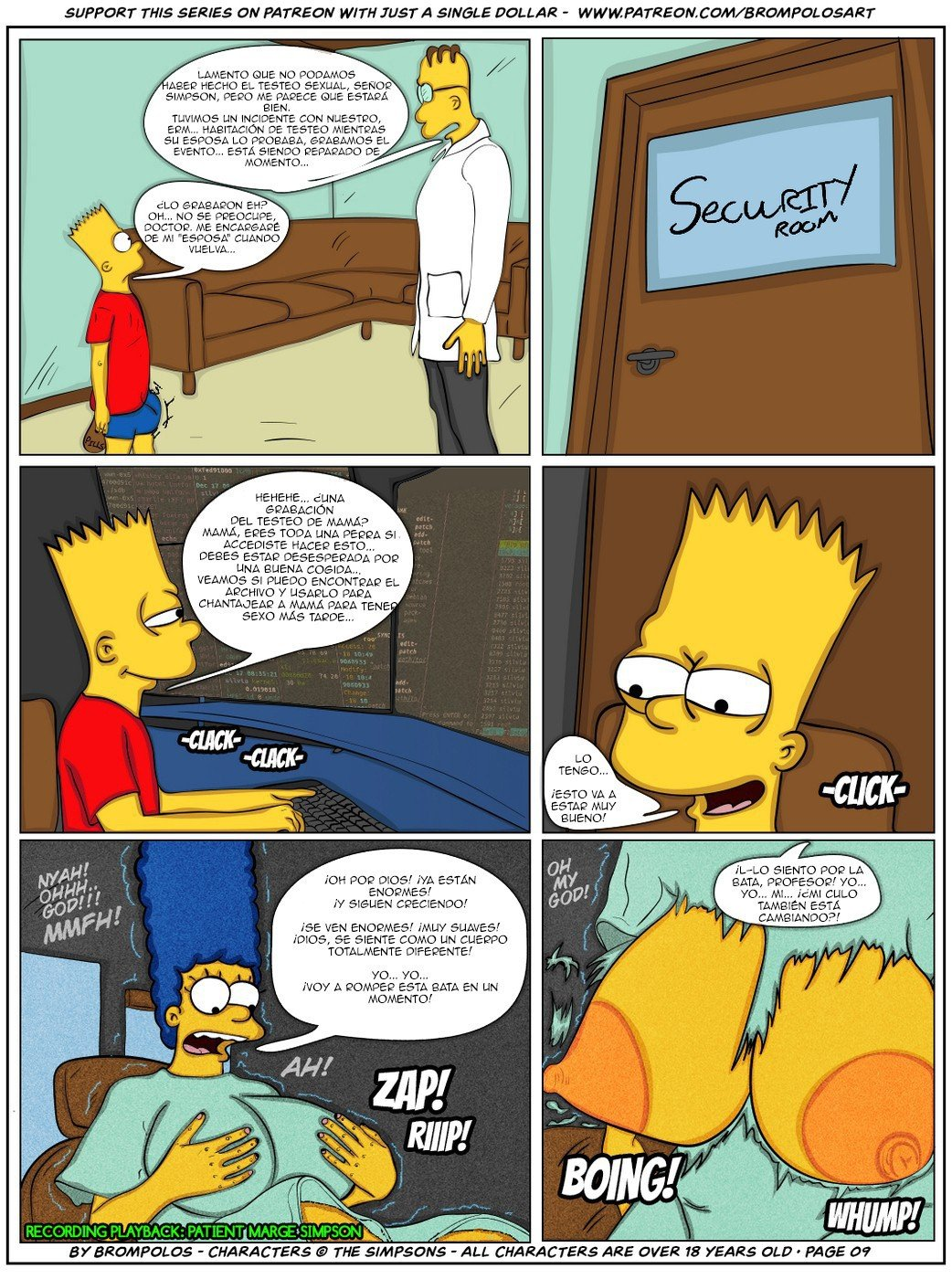 The Simpsons are The Sexenteins - 11