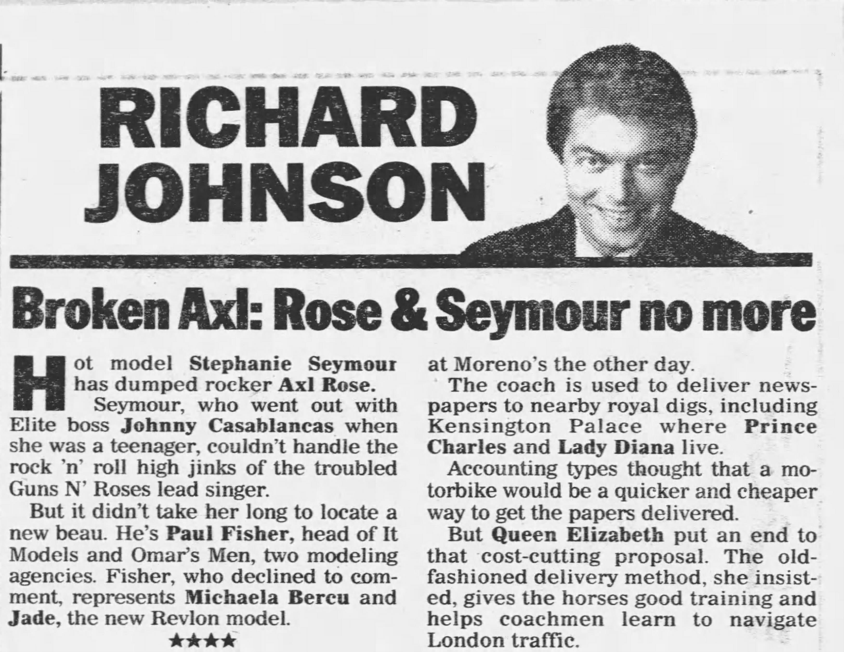 1991.12.11 - New York Daily News - Broken Axl B7KbDZWw_o