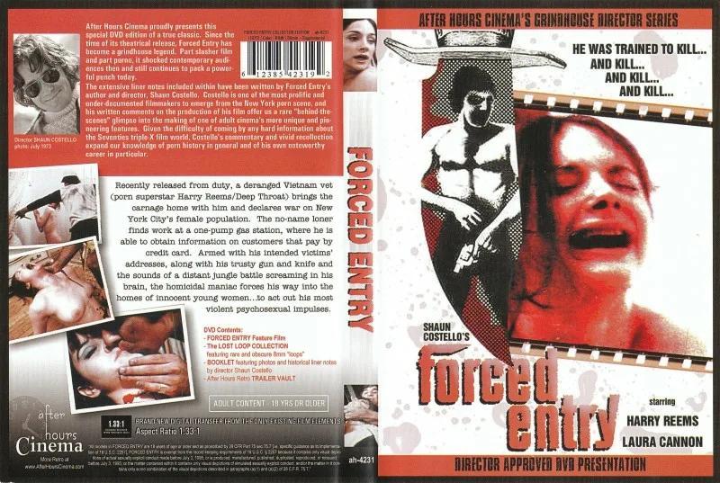 Forced Entry / Вынужденное вторжение (Shaun Costello, After Hours Cinema) [1973 г., Classic, Feature, All Sex, DVD5] (Harry Reems Laura Cannon Jutta David Shaun Costello Ruby Runhouse Nina Fawcett)