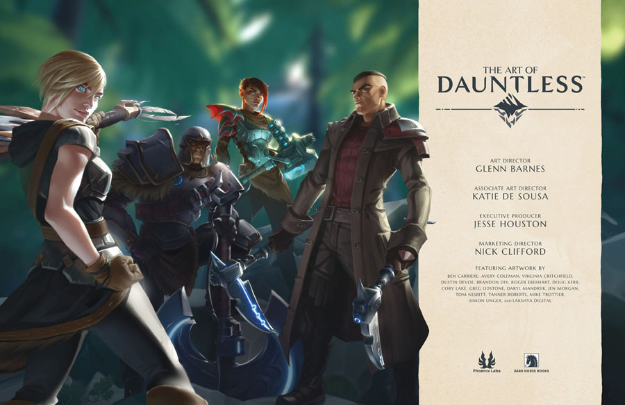 The Art of Dauntless (2019)