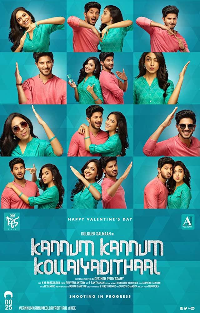 Kannum Kannum Kollaiyadithaal 2020 Tamil HDRip