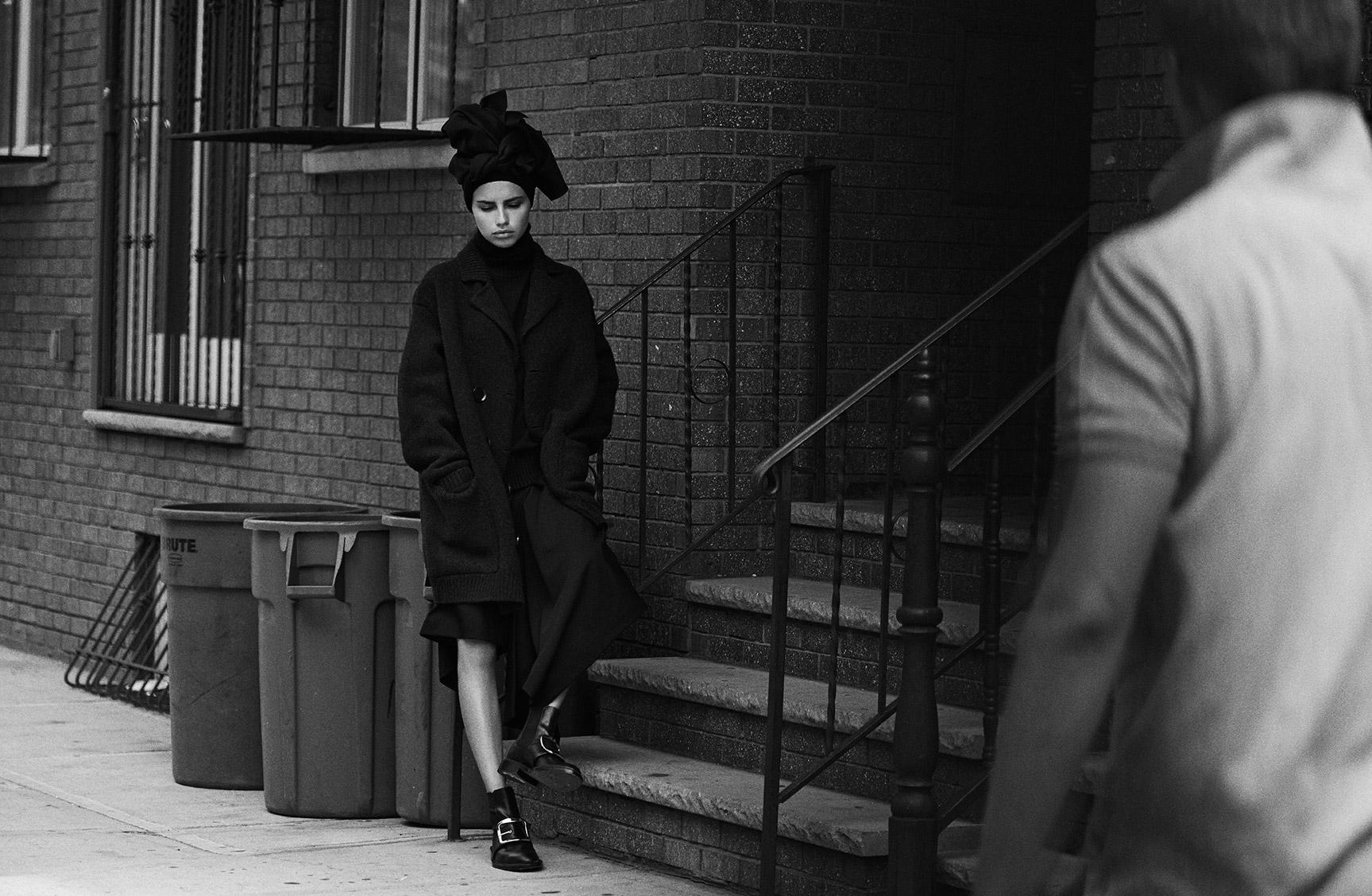 Прогулка по Бруклину с Адрианой Лимой / фото 03