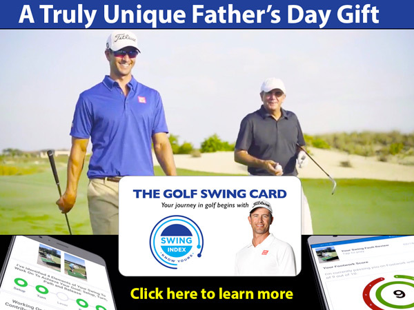Give the Swing Card for Father's Day