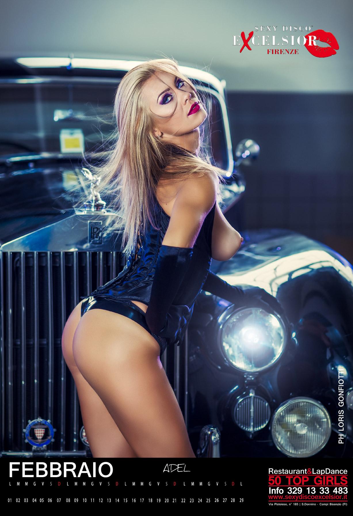 эротический календарь ночного клуба Sexy Disco Excelsior 2016 calendar - Adel