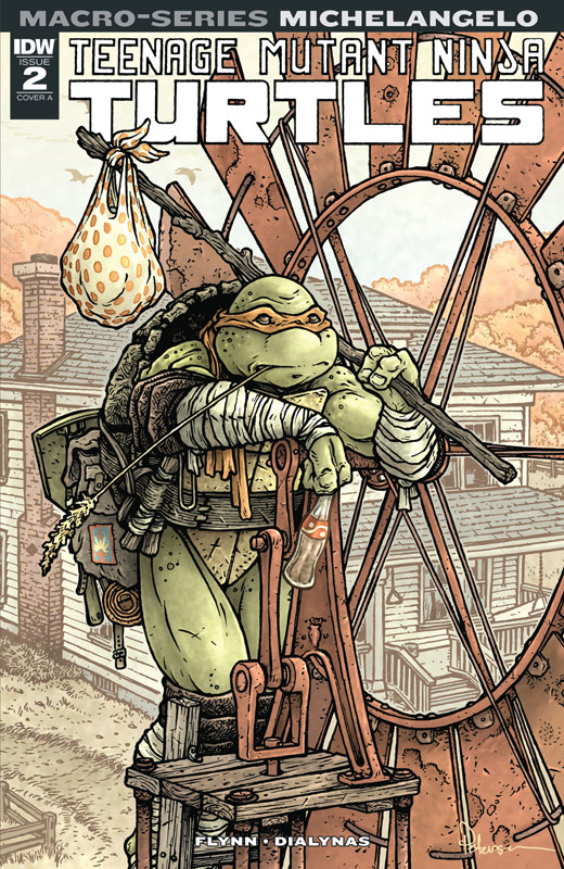 Teenage Mutant Ninja Turtles - Macro-Series 01-04 (2018)
