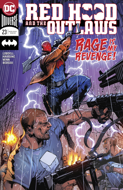 Red Hood and the Outlaws #1-23 + Annual (2016-2018)