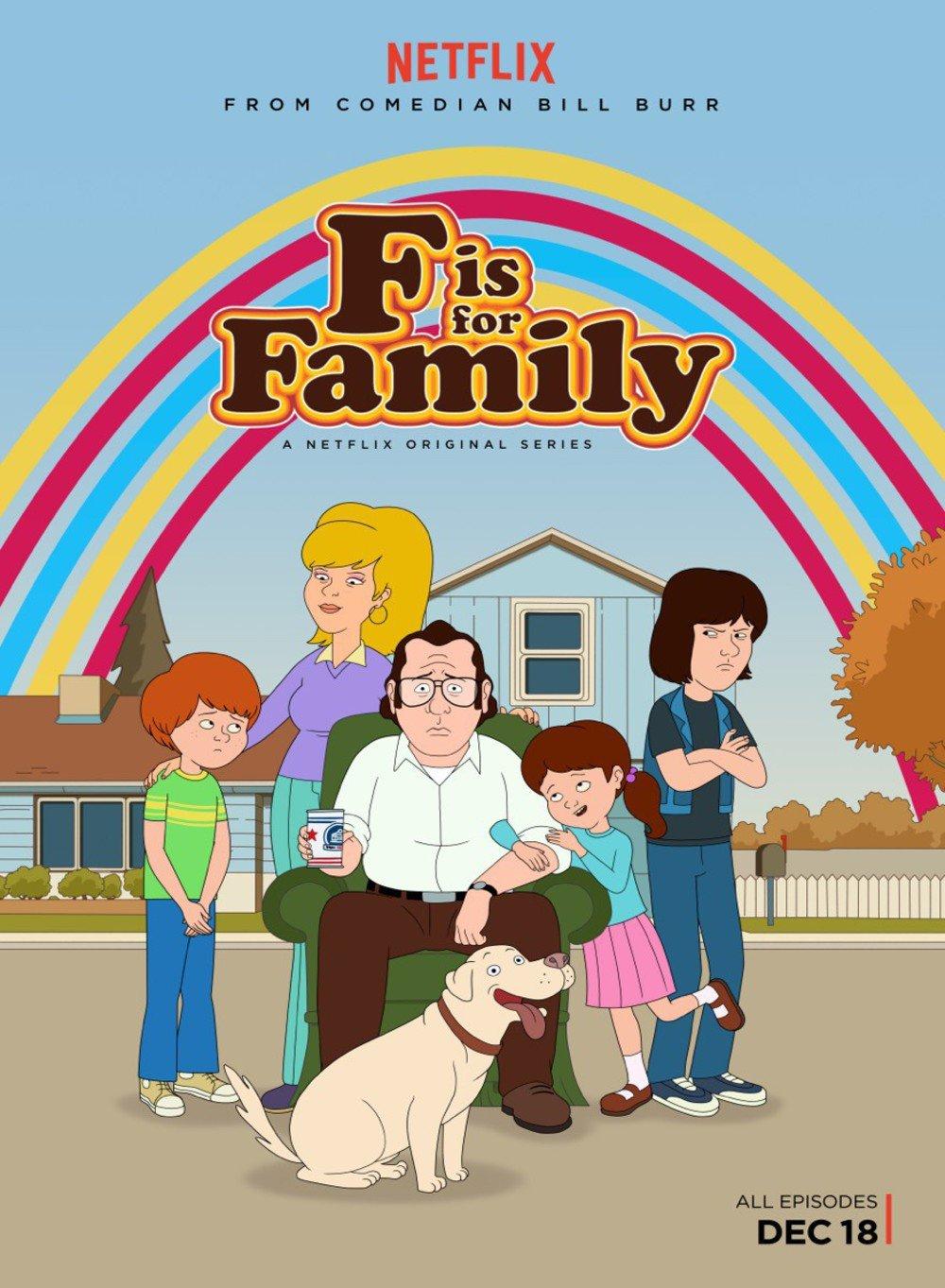 F is for Family | S01-S04 | 1080p | DUAL | NF WEB-DL | DDP5.1 | H264
