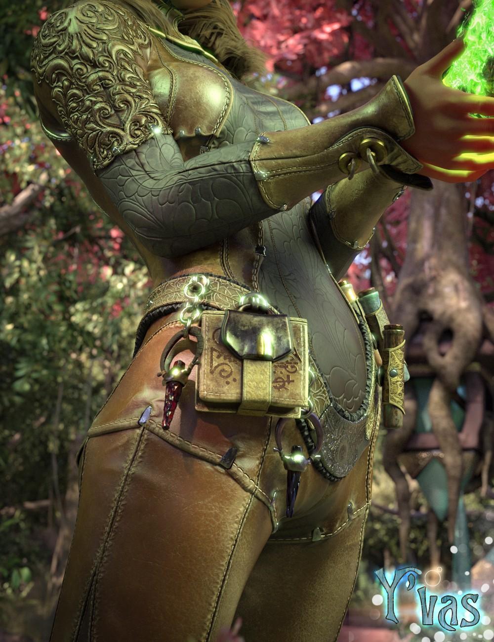 Y'vas Outfit for Genesis 8 Female