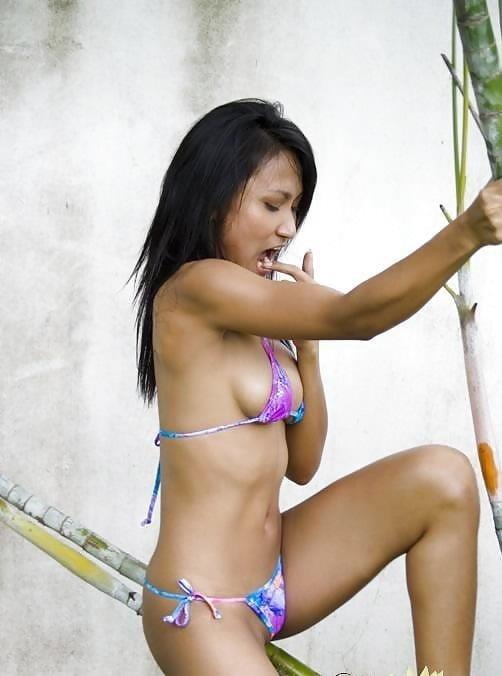 Sexy asian girl bikini-7824