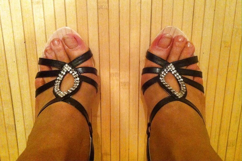 Natural tits high heels-6963