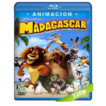 Madagascar (2005) BRRip 720p Audio Trial Latino-Castellano-Ingles 5.1