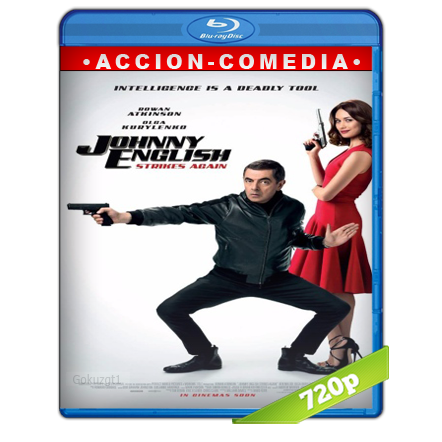 descargar Johnny English 3.0 720p Lat-Cast-Ing[Comedia](2018) gratis