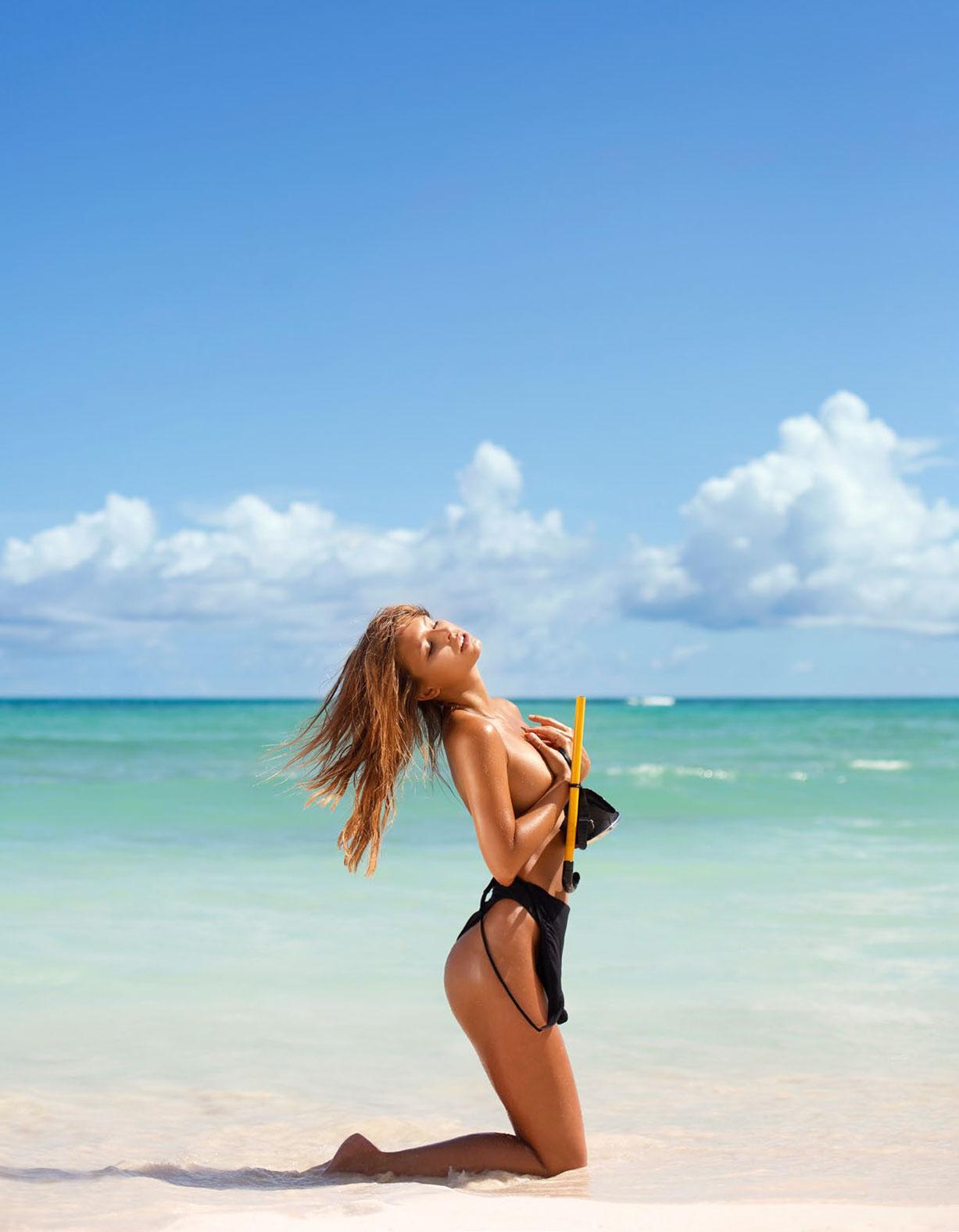 Мариса Папен в спецвыпуске журнала Playboy -Девушки летом- / фото 01