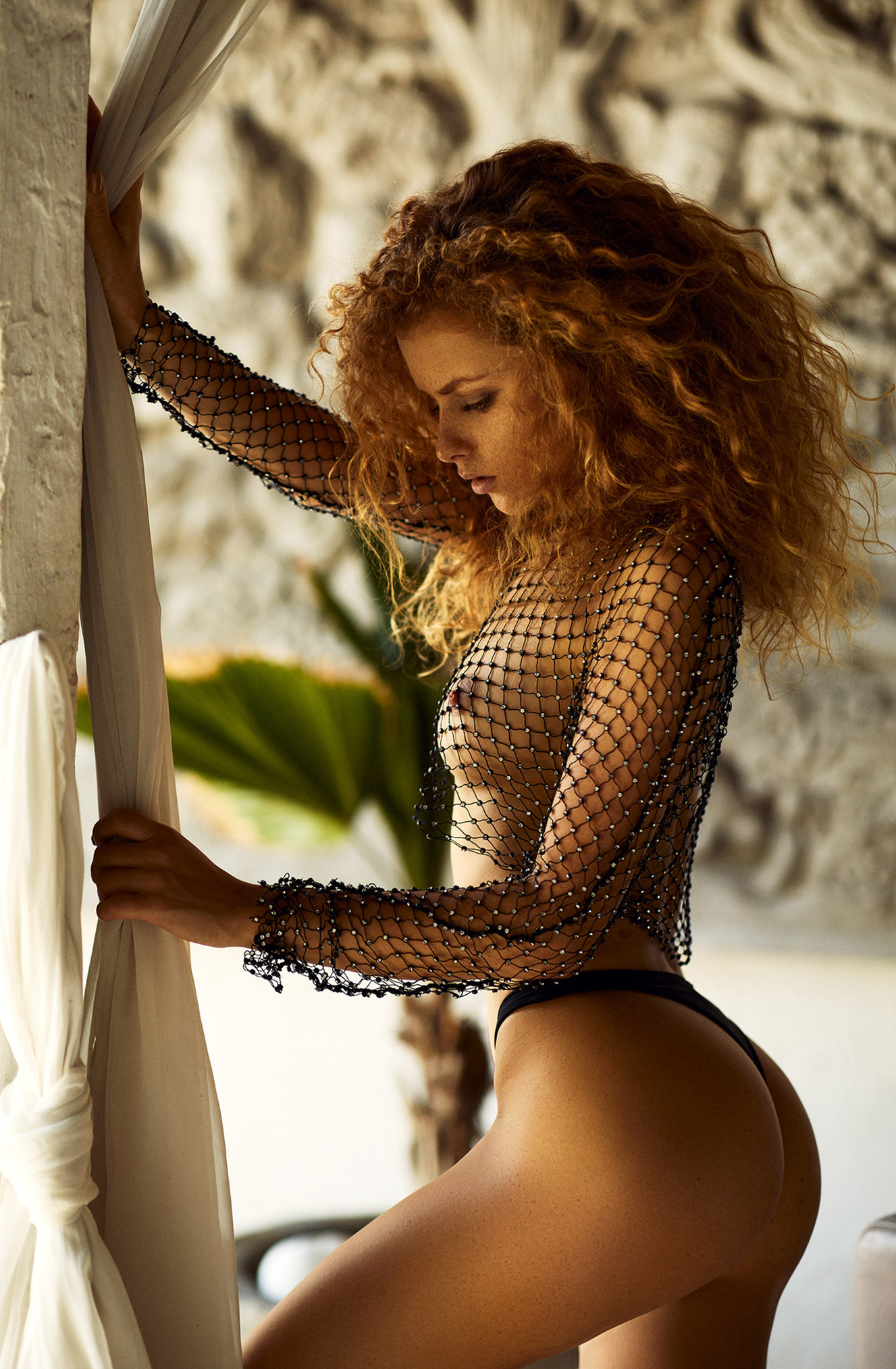 отдых на Бали с красавицей Юлей Ярошенко / Julia Yaroshenko naked by Joakim Karlsson