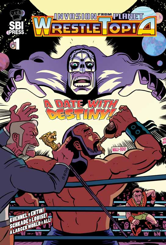 Invasion from Planet Wrestletopia 001 (2019)
