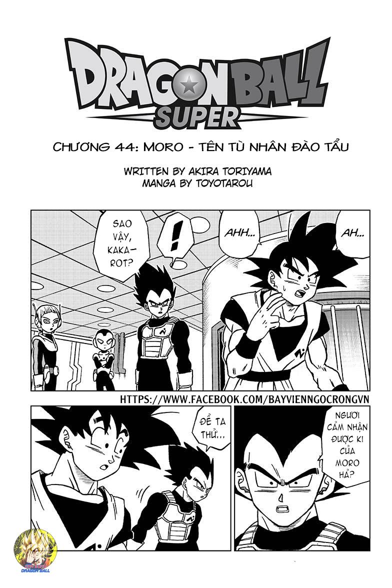 Dragon Ball Super Chap 44 . Next Chap Chap 45