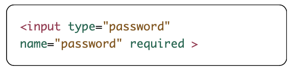 required attribute example