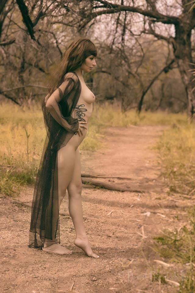Nude black female models-6900