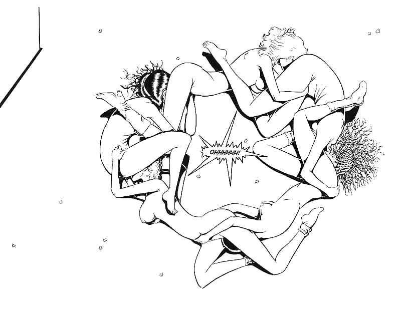 Slumber party lesbian sex-6995
