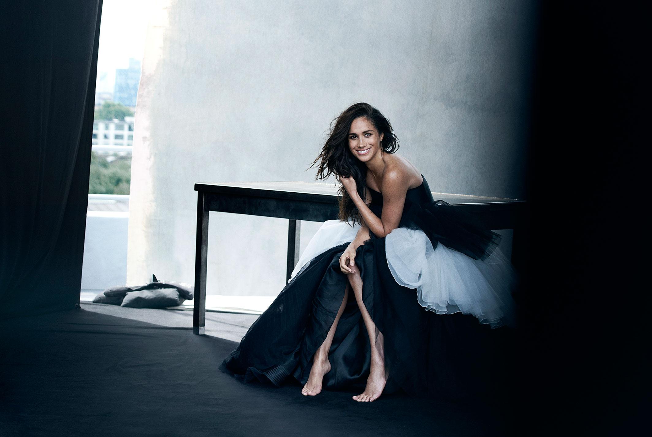 Меган Маркл на страницах журнала Vanity Fair / фото 03
