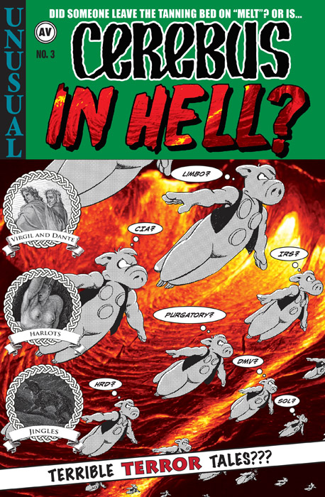 Cerebus in Hell #1-4 (2017)