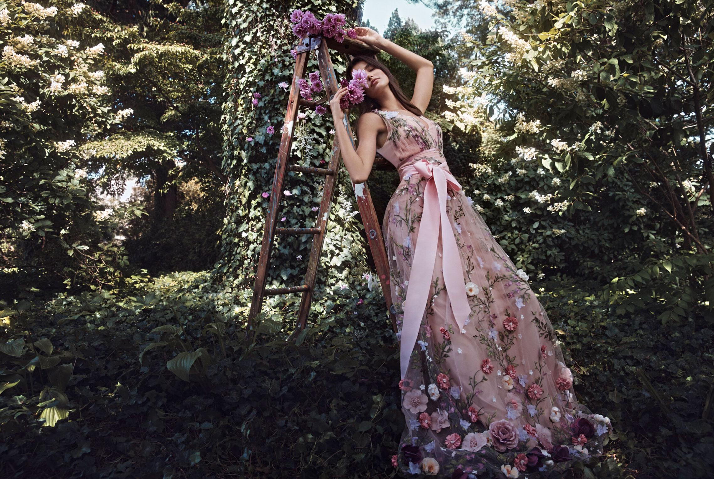 Коллекция модной одежды Marchesa, сезон весна-лето 2020 / фото 03