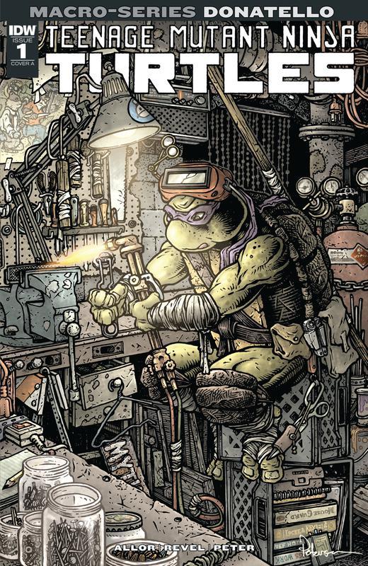 Teenage Mutant Ninja Turtles - Macro-Series 01 - Donatello (2018)