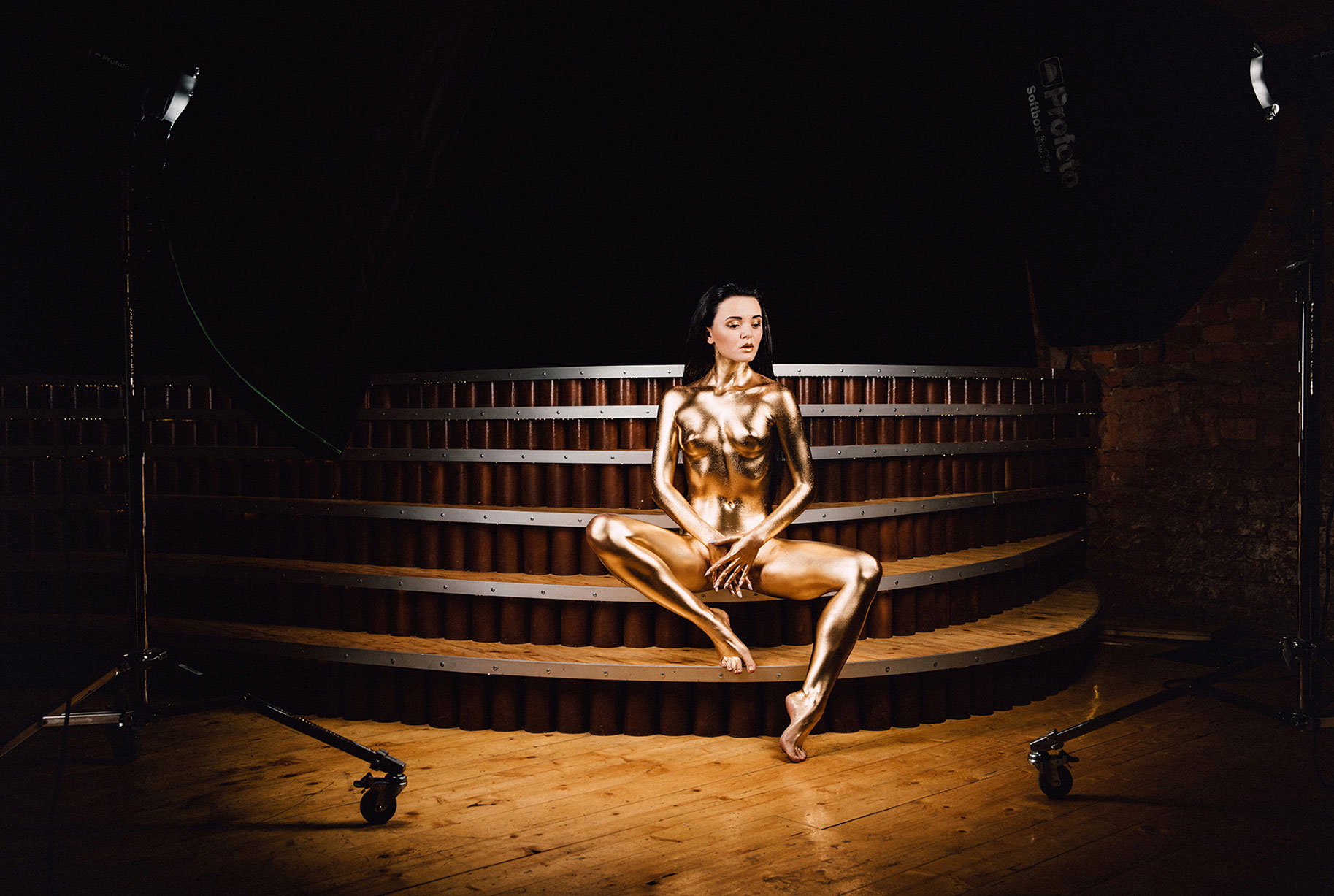 Goldy / Золотая девушка / Алина Бош, фотограф Роман Третьяков