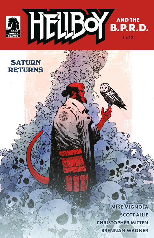 Hellboy and the B.P.R.D. - Saturn Returns #1-3 (2019) Complete