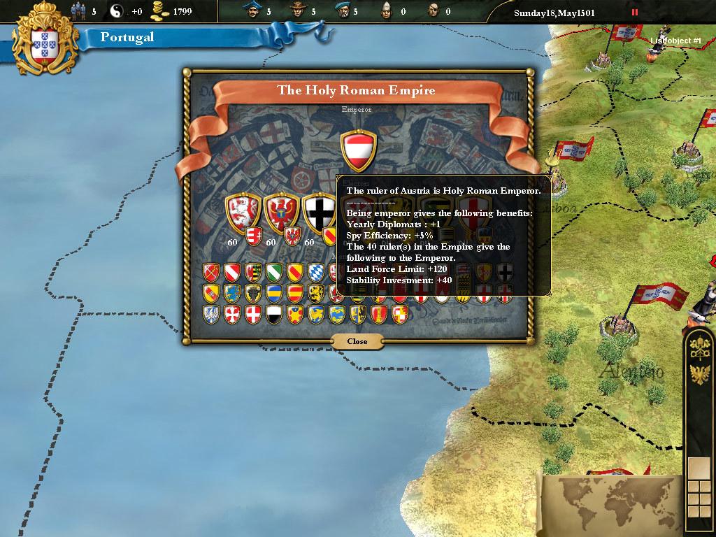 Europa Universalis III Complete Captura 3