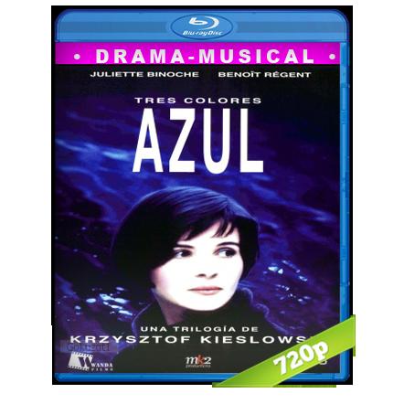 descargar Tres Colores Azul [1993][BD-Rip][720p][Dual Cas-Fra][Drama] gratis