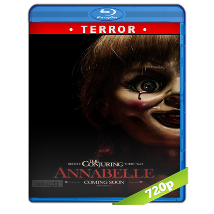 Annabelle (2014) BRRip 720p Audio Trial Latino-Castellano-Ingles 5.1