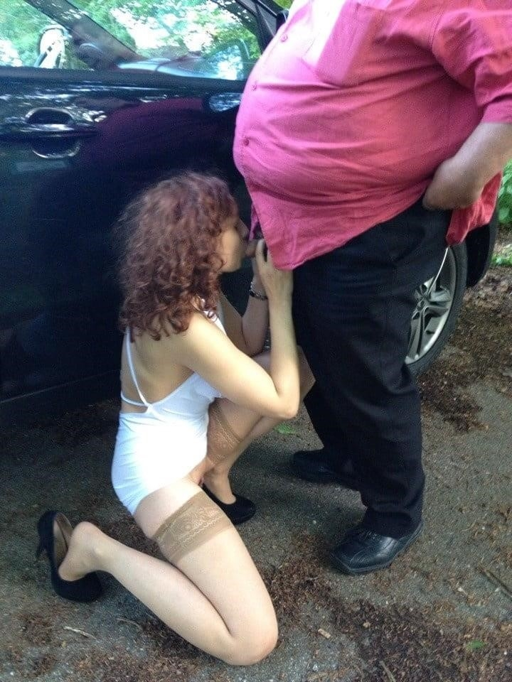 Hot girl with old guy-8595