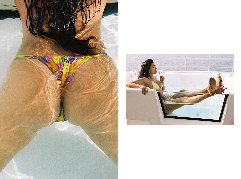 Келли Гейл в купальниках модного бренда Bamba Swimwear, лето 2020 / фото 22