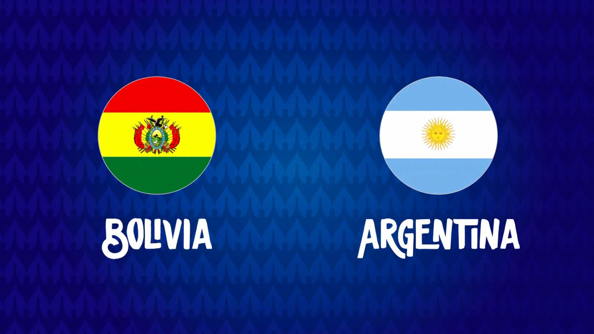 Full match: Bolivia vs Argentina