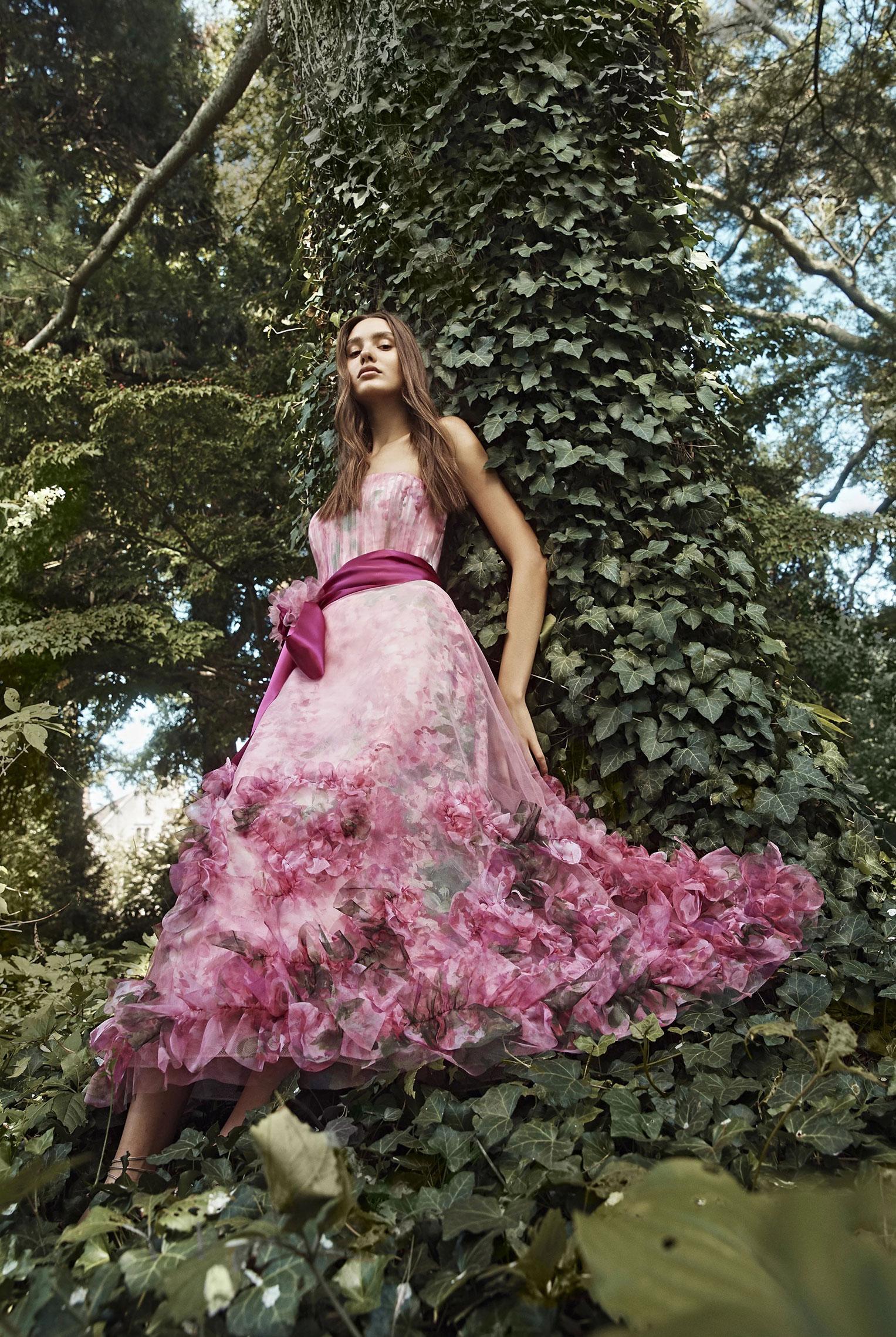 Коллекция модной одежды Marchesa, сезон весна-лето 2020 / фото 07