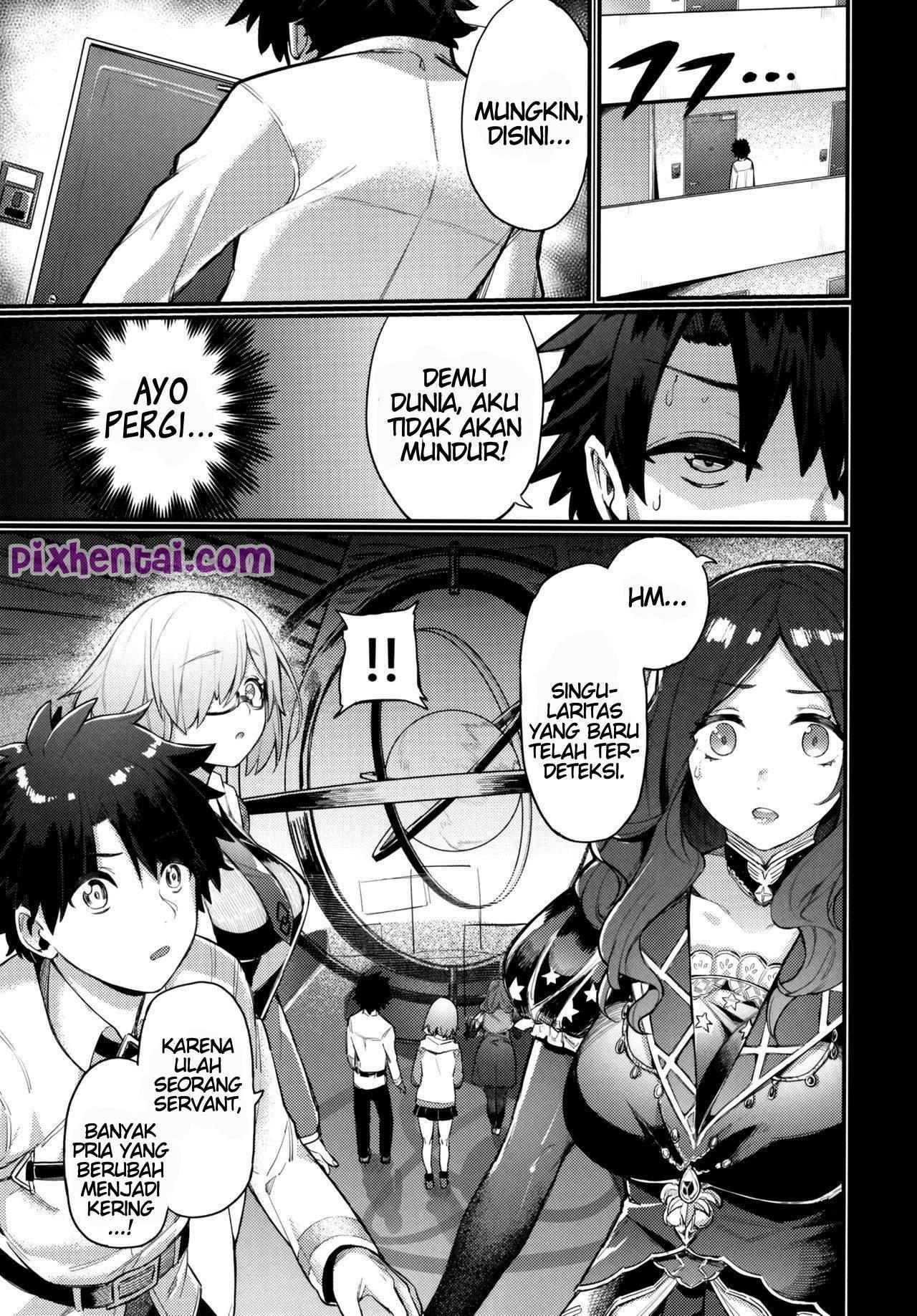 Komik Hentai Leave It To Mommy Raikou (Fate/Grand Order) Manga XXX Porn Doujin Sex Bokep 03