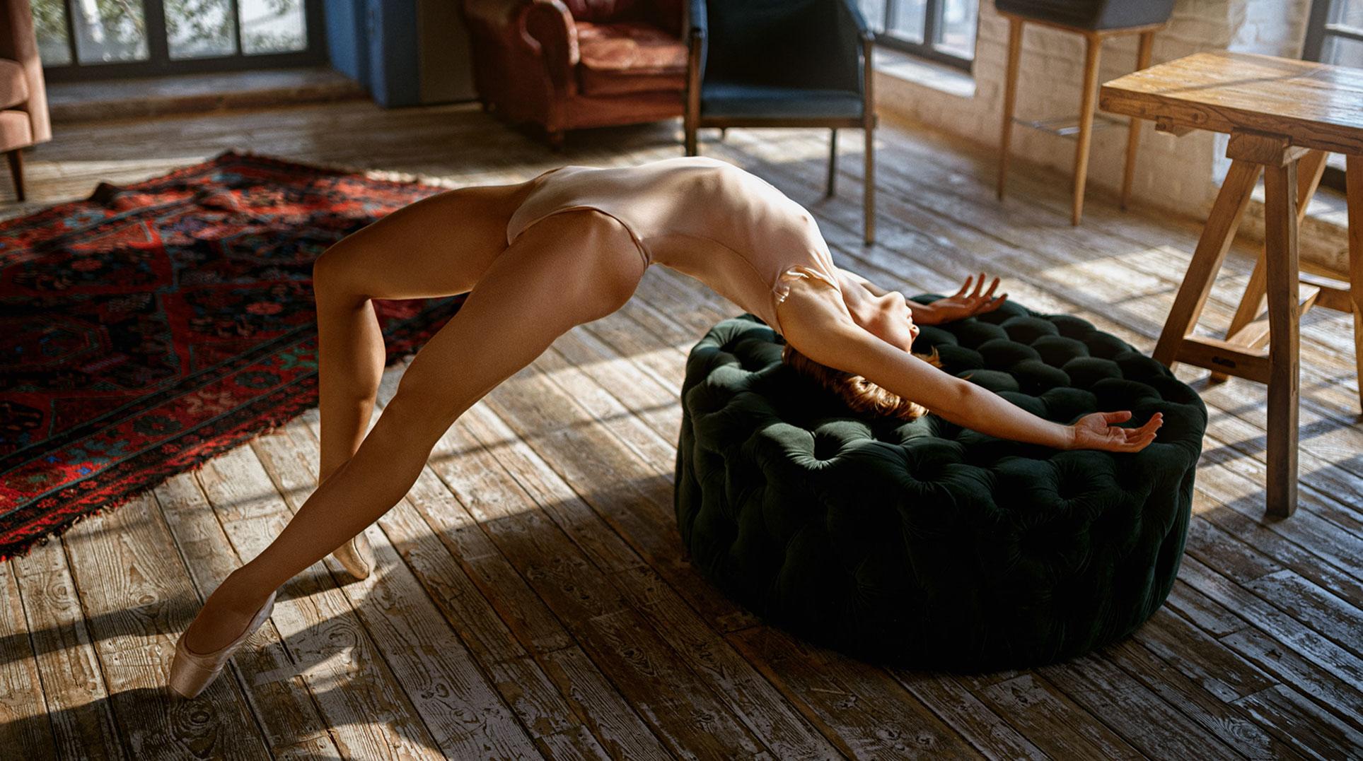 Балерина Анна танцуета сексуальный танец / фото 08