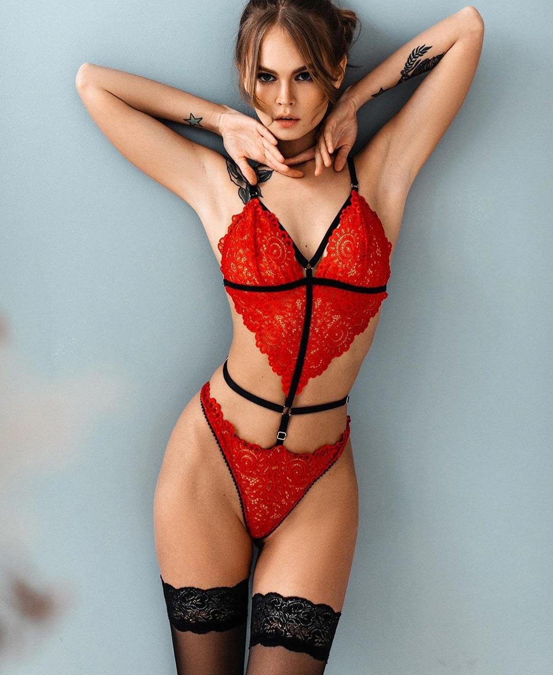 Анастасия Щеглова в нижнем белье торговой марки MissX / фото 15