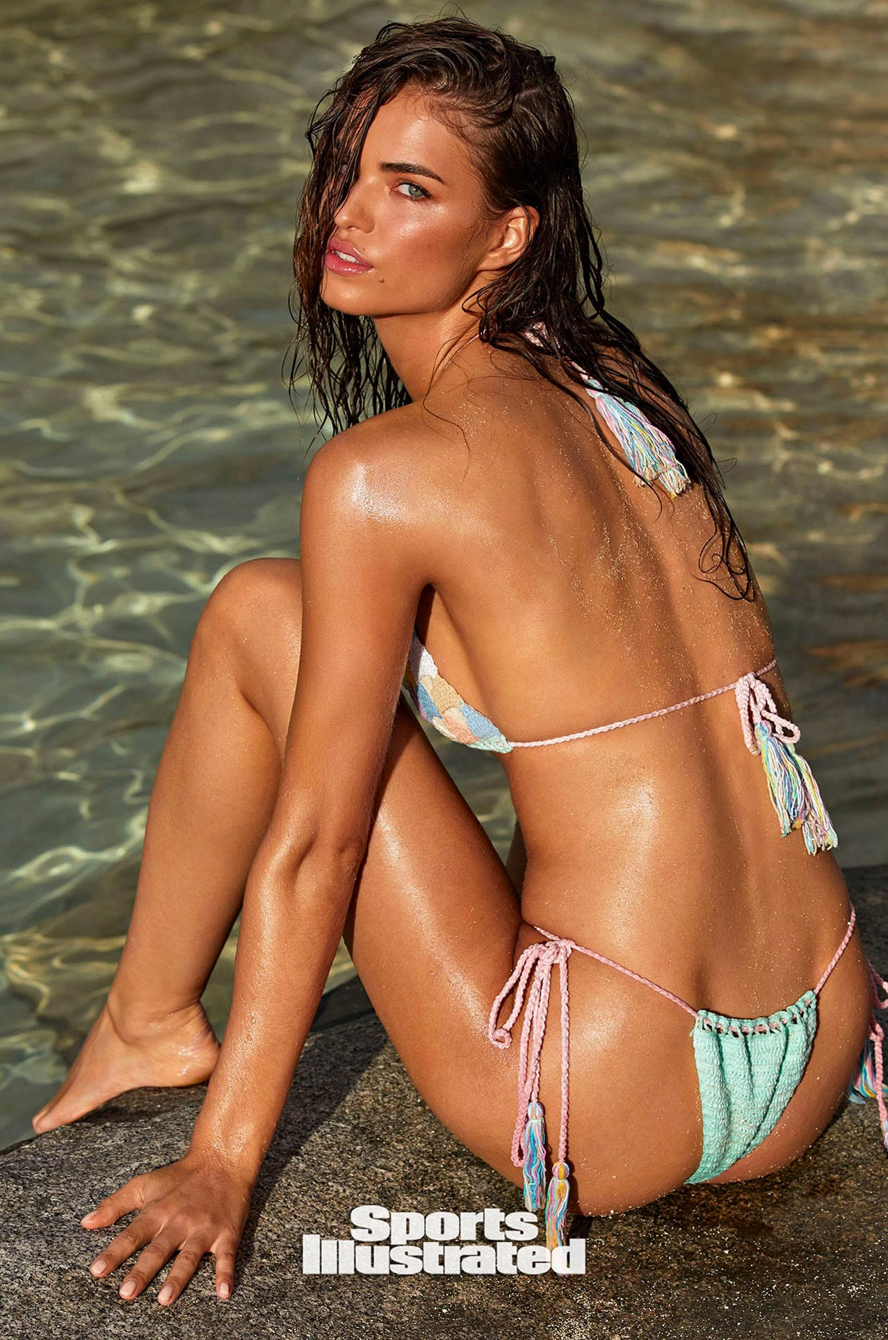 Робин Хольцкен в каталоге купальников Sports Illustrated Swimsuit 2020 / фото 09