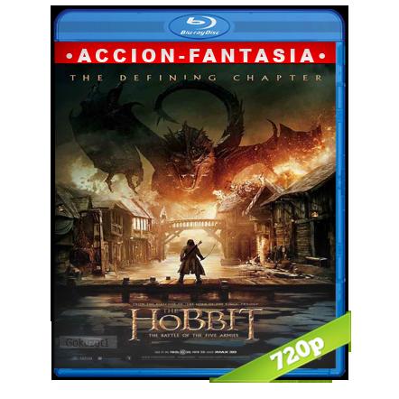 descargar El Hobbit 3 720p Lat-Cast-Ing 5.1 (2014) gratis