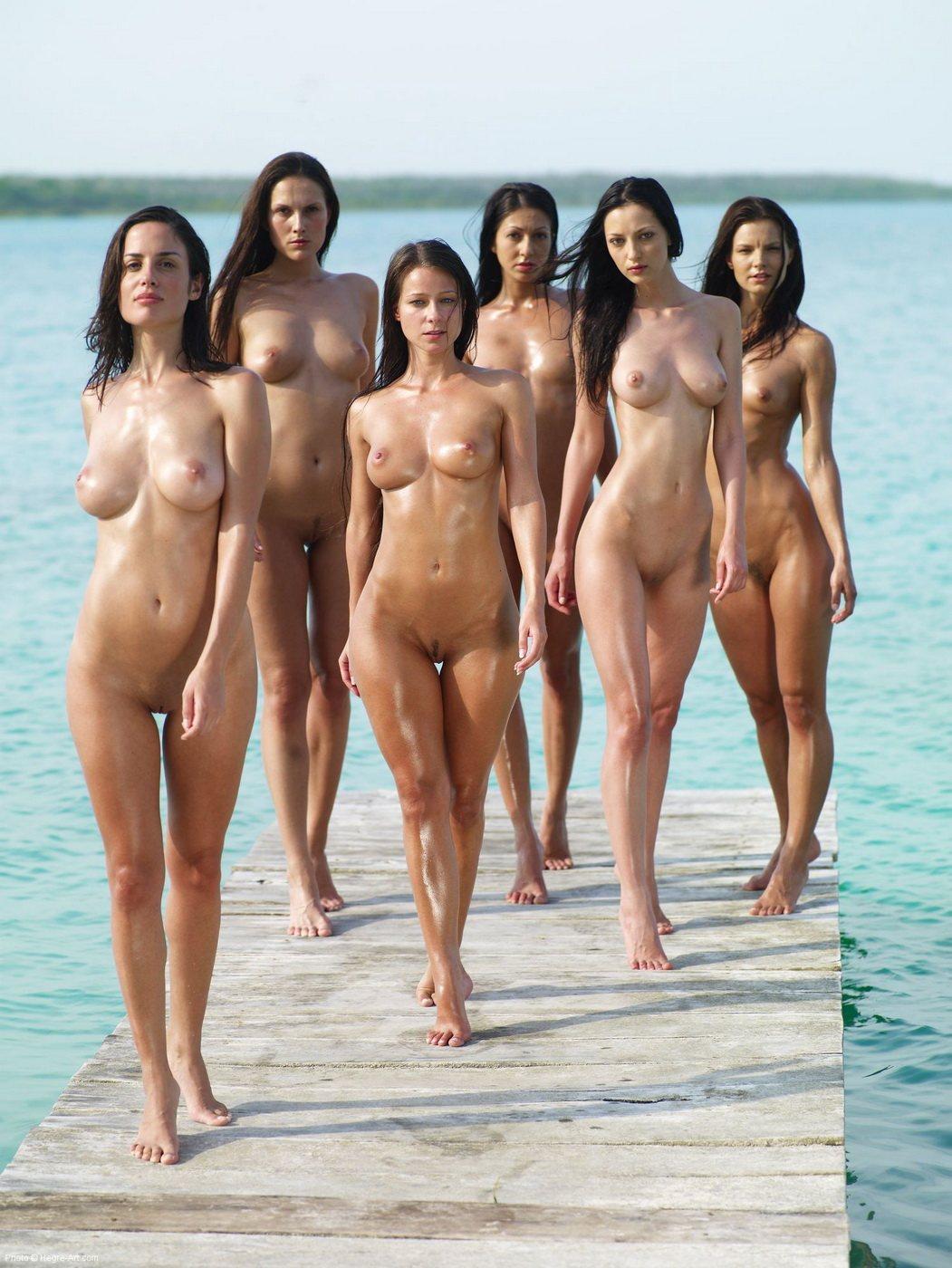 Topless Beach Girl