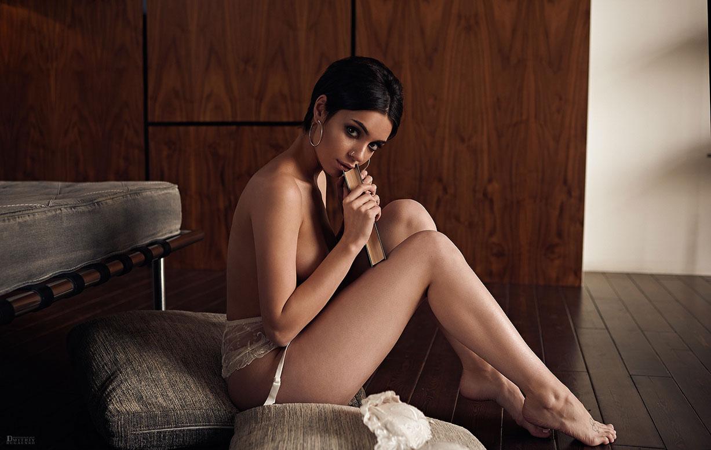 Сексуальная и почти голая Таня Фрост / фото 21