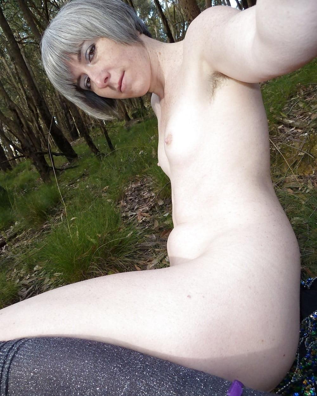 Naked girl taking selfie-6772