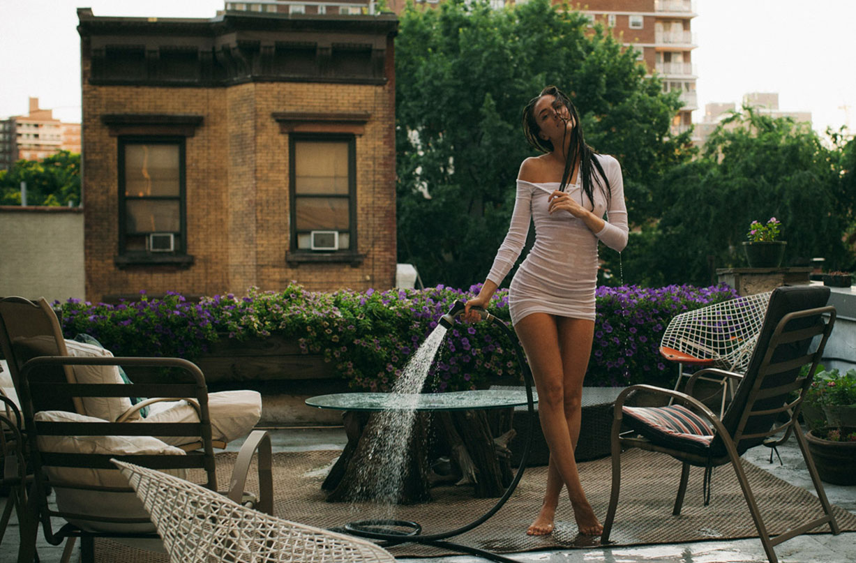 Сад на крыше в Нью-Йорке / Charissa Fiorelli by Villanuevo - Yume Magazine / Rooftop Garden